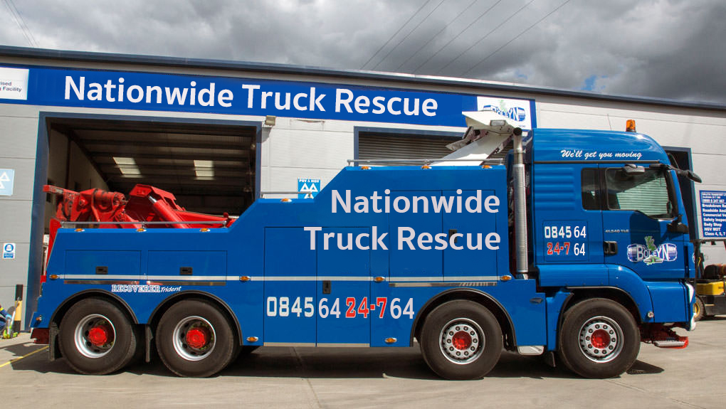 Nationwide Truck Recovery - Boleyn Recovery Vehicle View 2